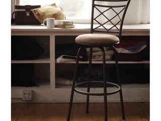 Halfy Counter to Bar Height Adjustable 360 Degree Swivel Bar Stool