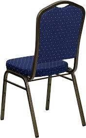 heliconia blue upholstered stack dining