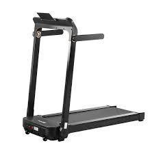zenova foldable treadmill black