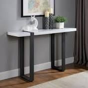 furniture of america skryne contemporary sofa table White  Retail 251 99
