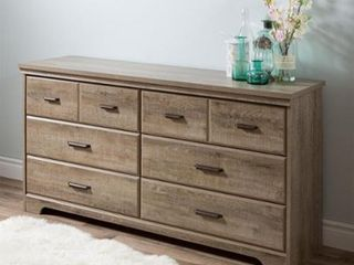 Versa Country Cottage 6 drawer Double Dresser half of dresser only as is box 1