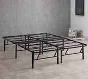 Best Price Mattress Full Bed Frame only  14 Inch Metal Platform Bed  model C  W  No