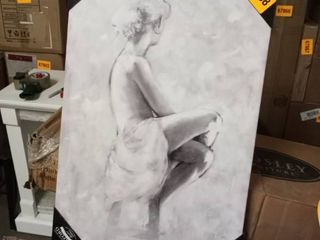 soft rhapsody ii premium gallery lady canvas picture wexford