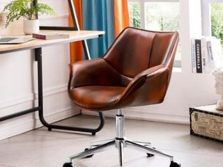 OVIOS Office Chair  leather Computer Chair for Home Office  Retail 179 49