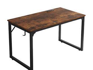 Home Office Desk  Modern Industrial Simple Style Computer Desk  Workstation  Sturdy Writing Desk