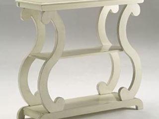 lucy Console Table  Ivory