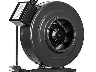 VIVOSUN 6 Inch 440 CFM Inline Duct Fan Vent Blower Ventilation Fan for Grow Tent
