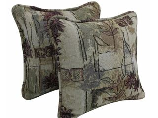 Gracewood Hollow Chaat Floral Corded Tap  2 Pillows