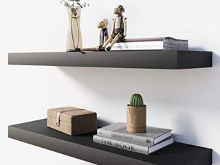 BAMEOS Floating Wall Shelf Set