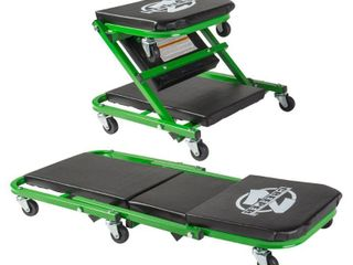 Pro lift Z Creeper 2 in 1 Creeper and Seat 36 in  with 6 Casters