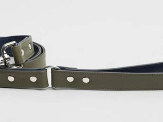 Finn Me Olive  amp  Green leash 4ft l  Retail 75 00