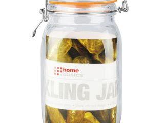 Home Basics Glass Pickling Jar with lid
