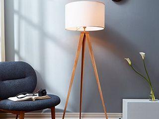 Versanora Romanza Tripod Metal legs lED Floor lamp  White