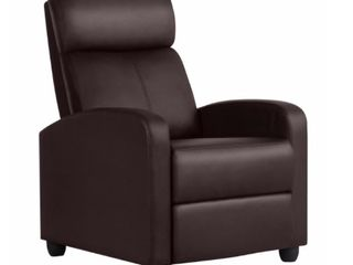 Recliner Chair PU leather Single living Room Sofa Recliner  Retail 195 99