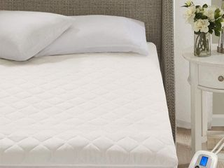 Marquess Programmable Ultra Soft Quilted Heated Mattress Pad Full