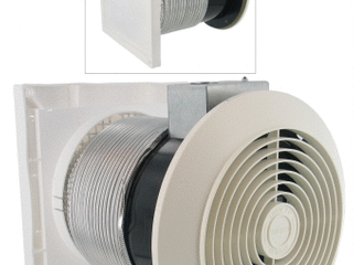 Broan 512M 70 CFM 6  Through The Wall Ventilator