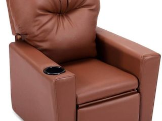 Kids Chair Recliner with Cupholder  Retail  164 00