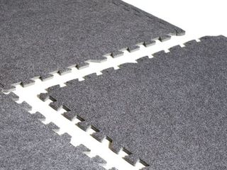 CAP Barbell 6 pcs Foam Tile Flooring w  Carpet Top Retail  22 99