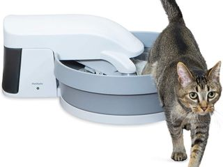 PetSafe Simply Clean Cat litter Box  Medium  Grey Off White Retail  99 95