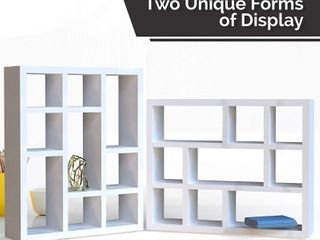 Halter Cube Wall Mounted Shelves  Retail  27 89