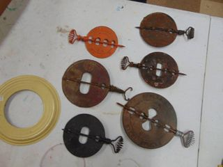 Several Griswold Stove Dampers