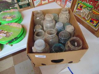 Selection of Vintage Canning Jars