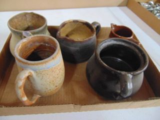 Assorted Pottery Decor