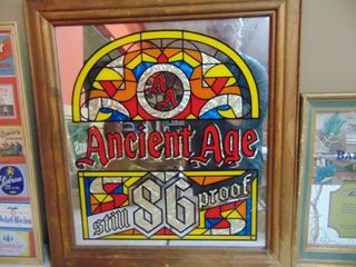 Ancient Age Whiskey Mirror
