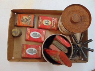 Tobacco Tins and More