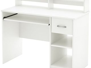 South Shore Axess Desk with Keyboard Tray  White