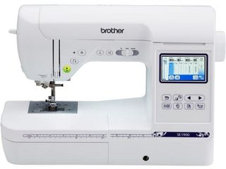 Brother SE1900 Computerized sewing and embroidery machine with 5IJx7IJ embroidery field and large color touch lCD screen  999