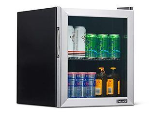 NewAir NBC060SS00 Beverage Cooler and Refrigerator  60 Can  Stainless Steel  60 Can