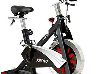JOROTO Belt Drive Indoor Cycling Bike with Magnetic Resistance Exercise Bikes Stationary   300 lbs Weight Capacity