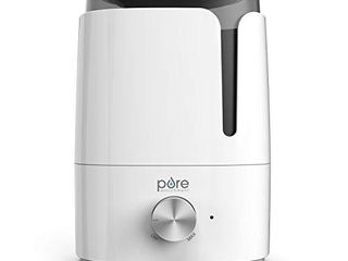 Pure Enrichment HUME Ultrasonic Cool Mist Humidifier   New 2020 Design   Easy Clean 3 5l Tank for large Rooms lasts Up to 50 Hours  Quiet Variable Mist Output Ideal for Baby Nursery  Bedrooms   Office