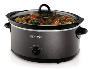 Crock Pot Design To Shine 7 qt  Slow Cooker  Black