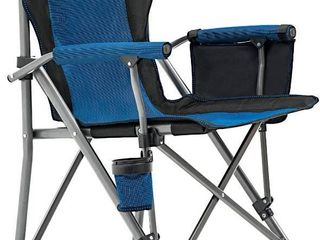XGEAR Hard Arm Camping Chair Blue