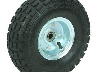2 Pack Trailer Tire   4 10 3 50 4   10 Inch Pneumatic Tire