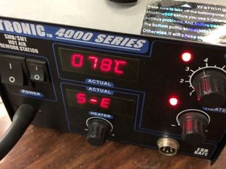 X TRONIC 4040 Hot Air Rework Soldering Station