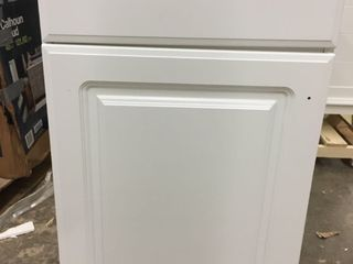 Bathroom Sink Single Project Source 18 6 in White Vanity with Top