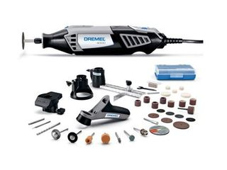 Dremel 4000 4 34 Rotary Tool Kit with 4 attach  and 34 access