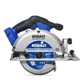 Kobalt 24 volt Max 6 1 2 in Cordless Circular Saw with Brake  Battery Not Included