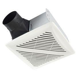 Broan 2 Sone 80 CFM White Bathroom Fan