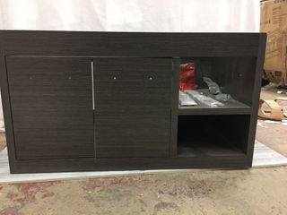 Allen   Roth 36 in wall hung vanity