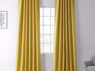 Exclusive Fabrics   Furnishings Blackout 50  x 108  Curtain Panel