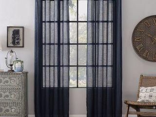 Archaeo Textured linen Blend 52  x 63  Curtain