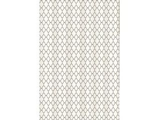 Gamma Extra long Shower Curtain 78 x 72 Inch Marrakesh Print Beige And Brown Fabric