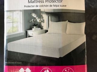 Mainstays Queen Size Soft Terry Mattress Protector