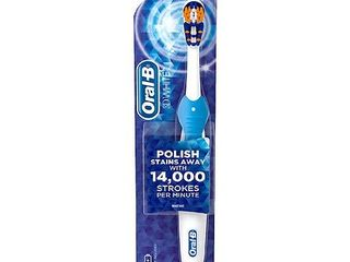Oral B 3D White Battery Power Electric Toothbrush  Various Colors