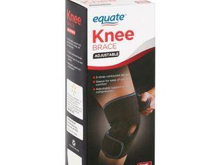 Equate Adjustable Knee Brace  One Size