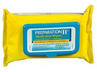 Preparation H Maximum Strength formula Medicated Wipes   48ct